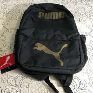 Kid's Puma One Size Unisex Black School Backpack